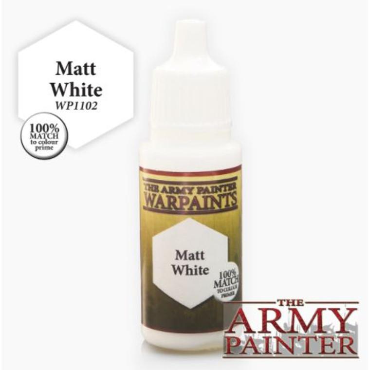 Army Painter Warpaint Matt White 1102