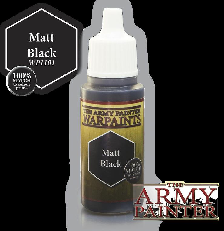 Army Painter Warpaint Matt Black 1101