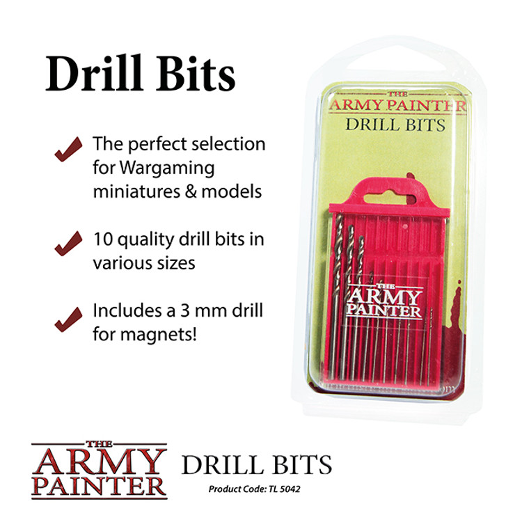 Army Painter Tools Drill Bits