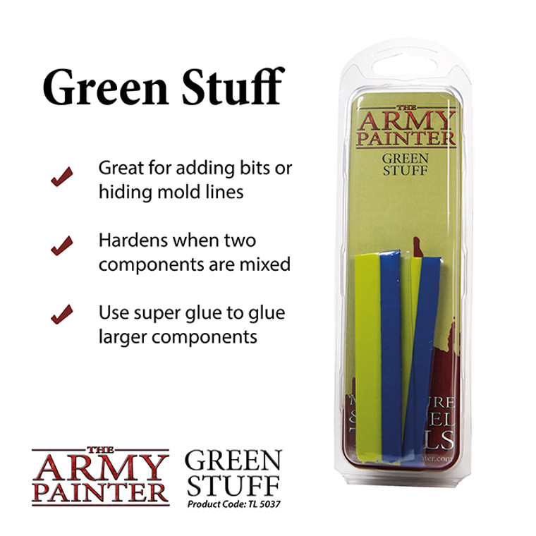 Army Painter Tools Green Stuff 8in