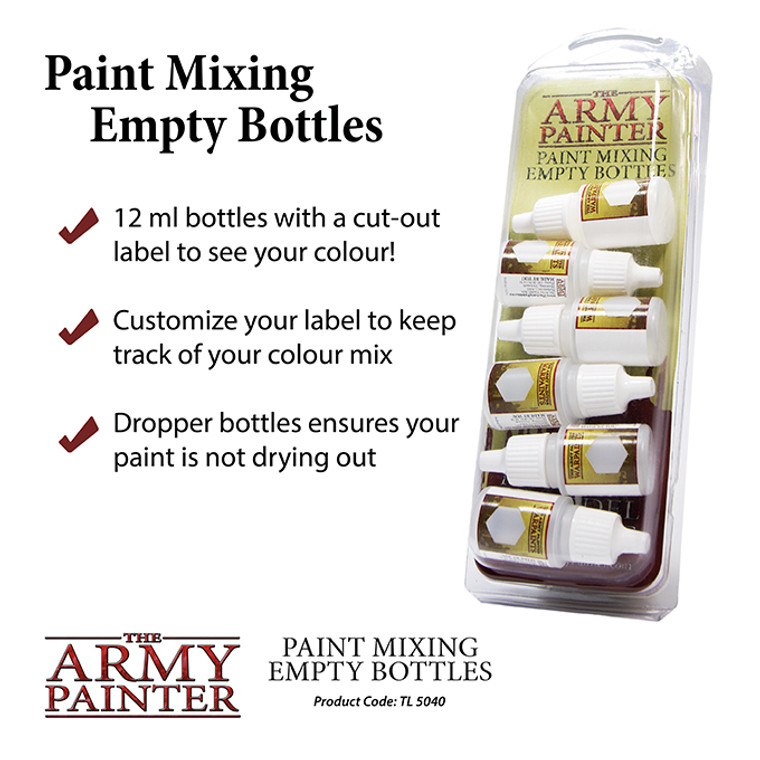 Army Painter Tools Paint Mixing Bottles