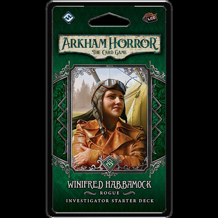 Arkham LCG Winifred Habbamock Investigator Starter Deck