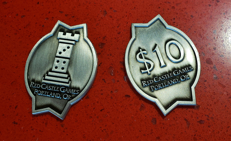 Red Castle $10 Token