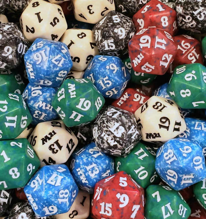 D20 - Magic Spin Down, assorted