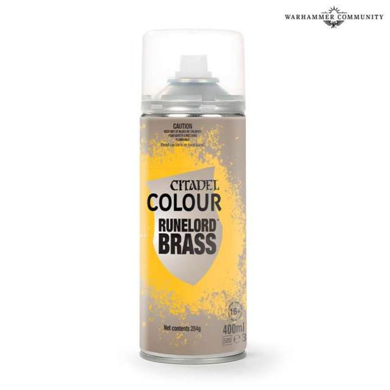 Citadel Colour Runelord Brass Spray
