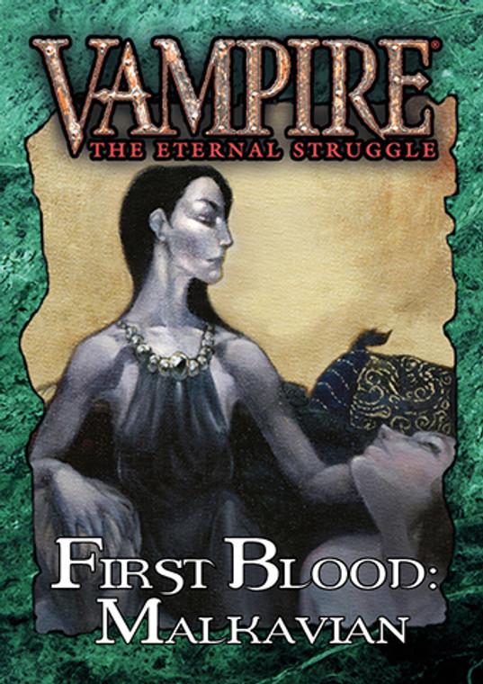 Vampire the Eternal Struggle First Blood Malkavian