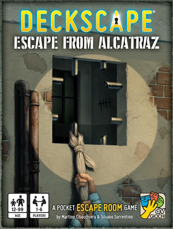 Deckscape Escape From Alcatraz