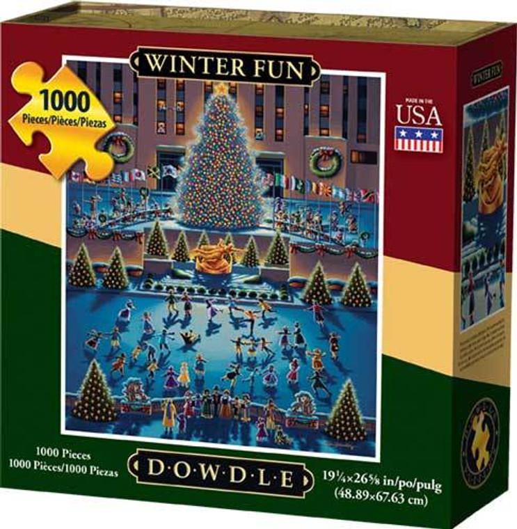 1000 pc Winter Fun