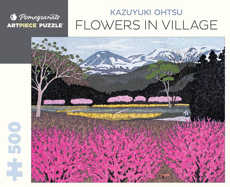 500 Pc Ohtsu, Kazuyuki: Flowers in Village