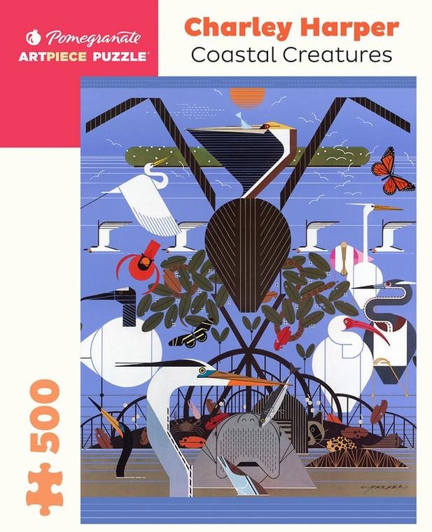 500 pc Harper, Charley: Coastal Creatures