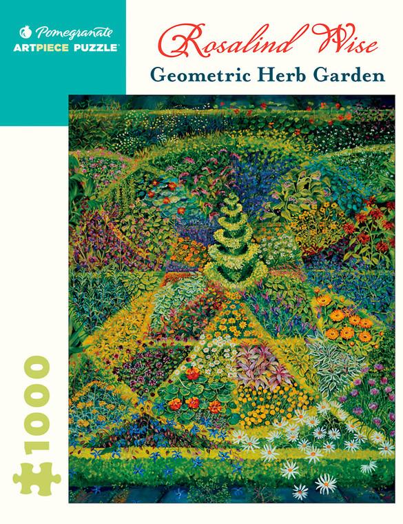 1000 Pc Wise, Rosalind: Geometric Herb Garden