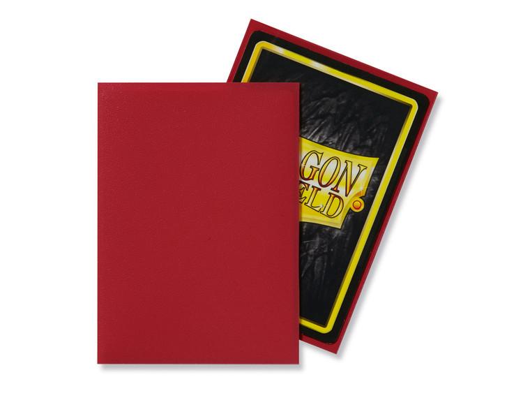 Dragon Shield Matte 100ct Red