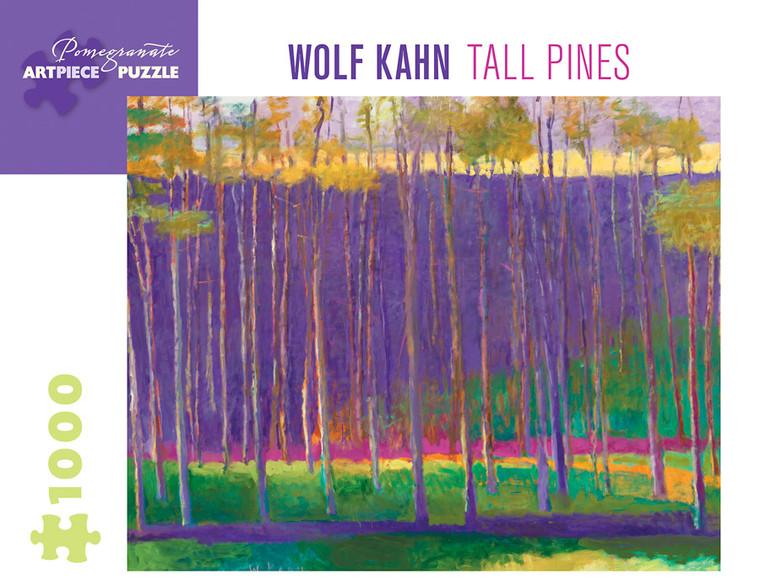 1000 pc Kahn, Wolf: Tall Pines