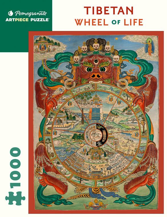 1000 Pc Tibetan Wheel of Life