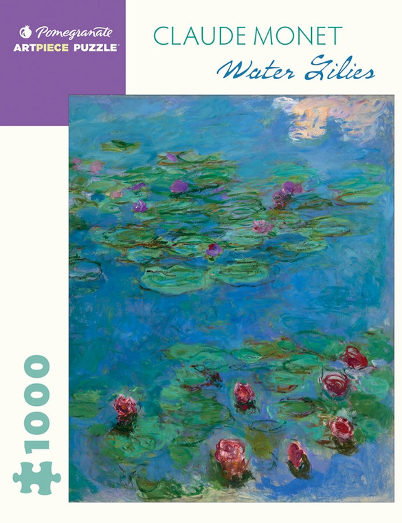 1000 Pc Monet, Claude: Water Lilies