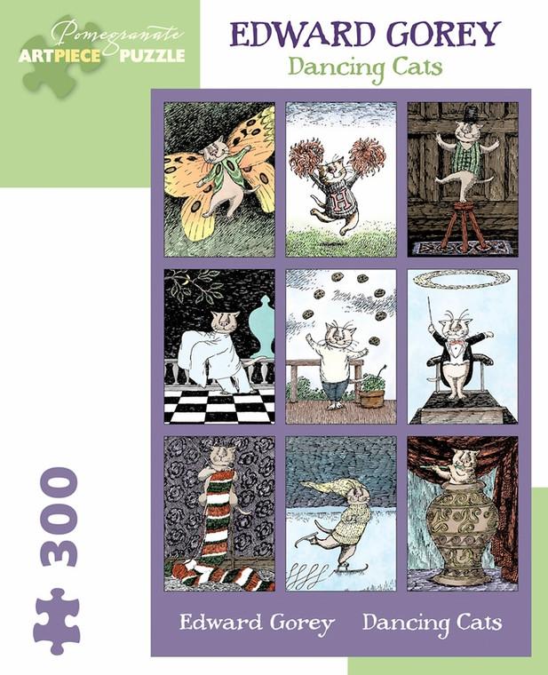 300 Pc Gorey, Edward: Dancing Cats