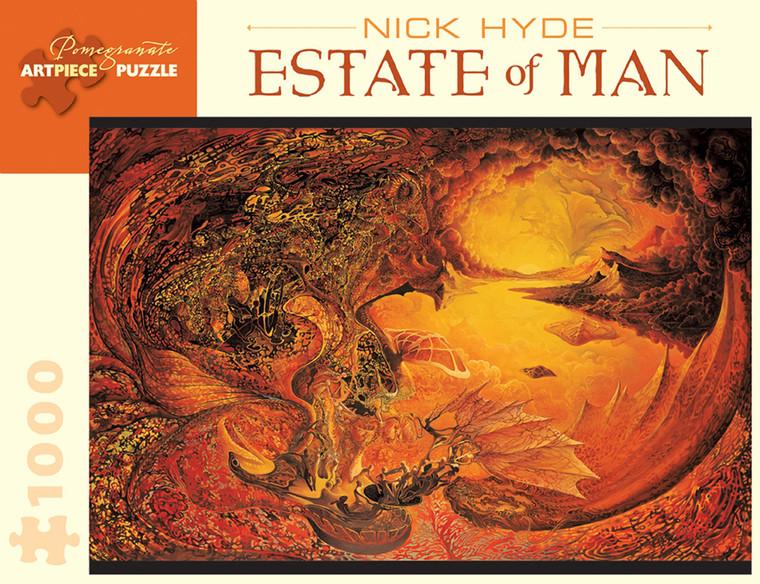 1000 Pc Hyde, Nick: Estate of Man