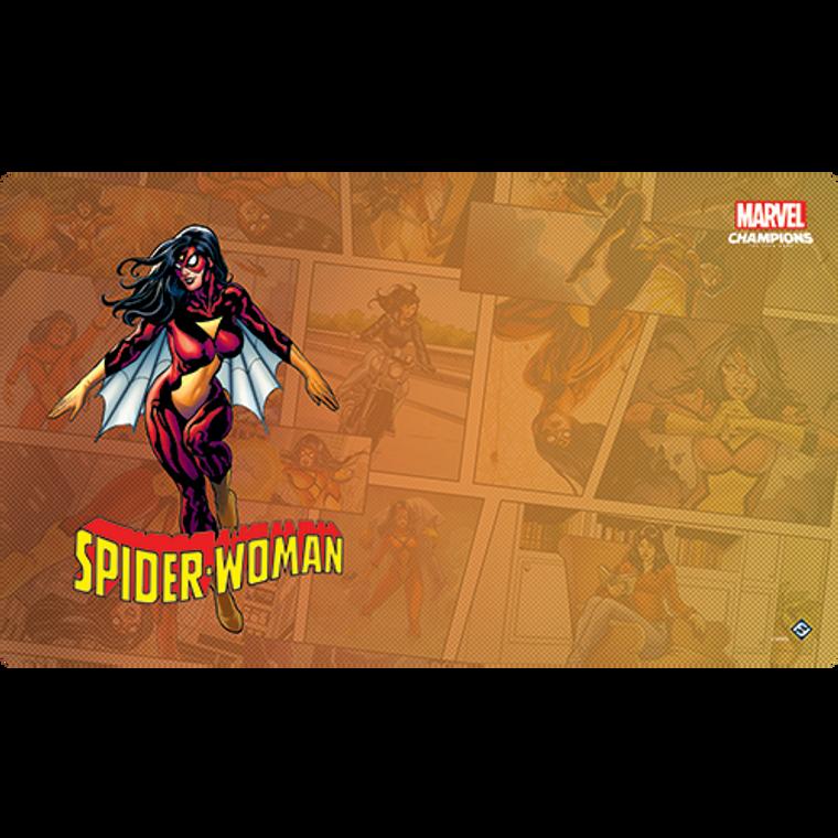 Spider-Woman Game Mat