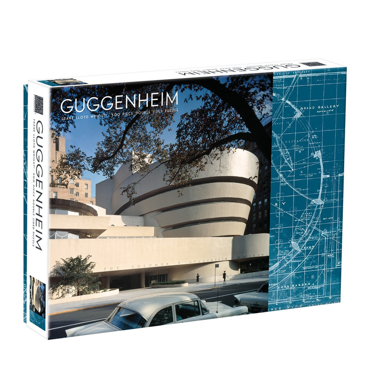500 Pc Wright, Frank Lloyd: Guggenheim