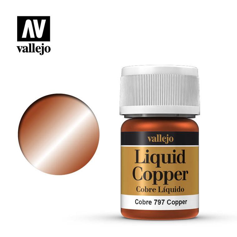 Vallejo Liquid Copper Paint 70797
