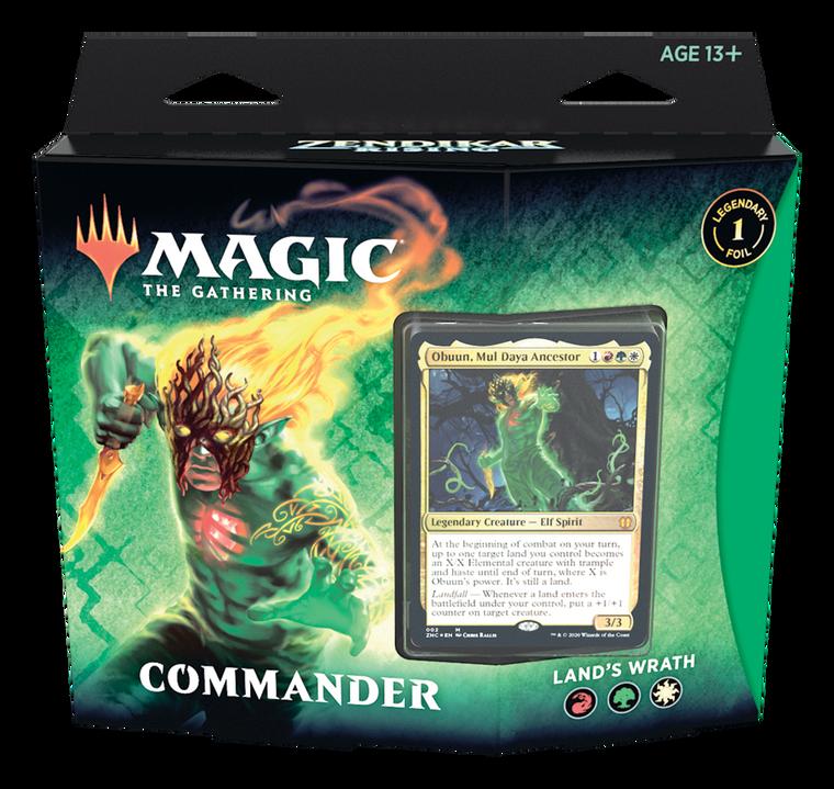 Commander Zendikar Rising Lands Wrath