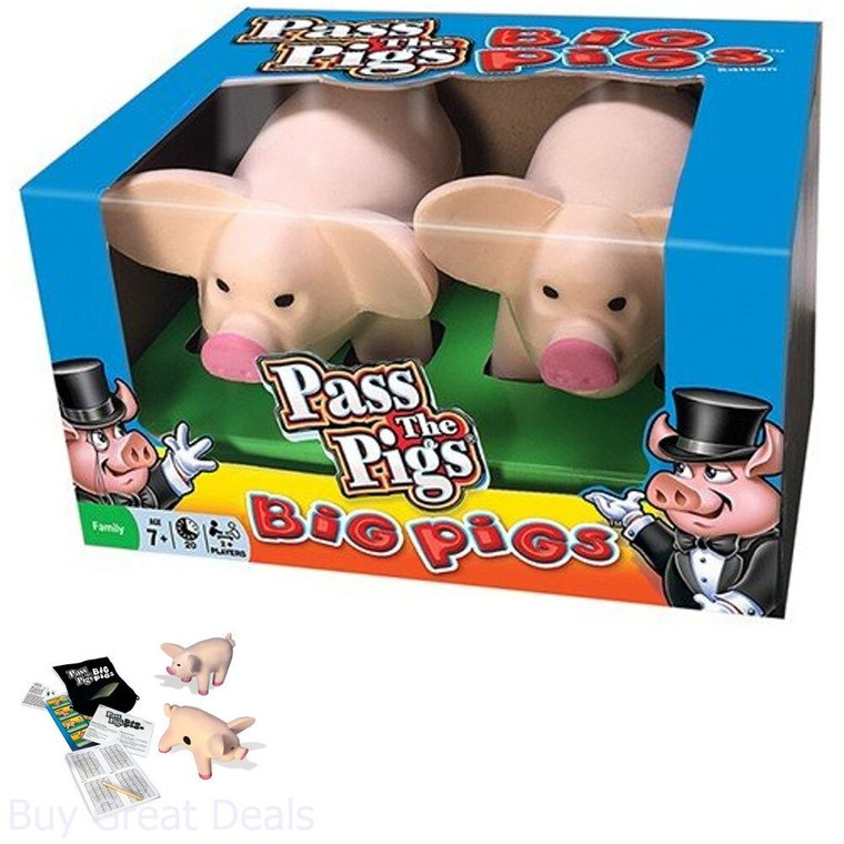 Pass the Pigs - Big Pigs Edition