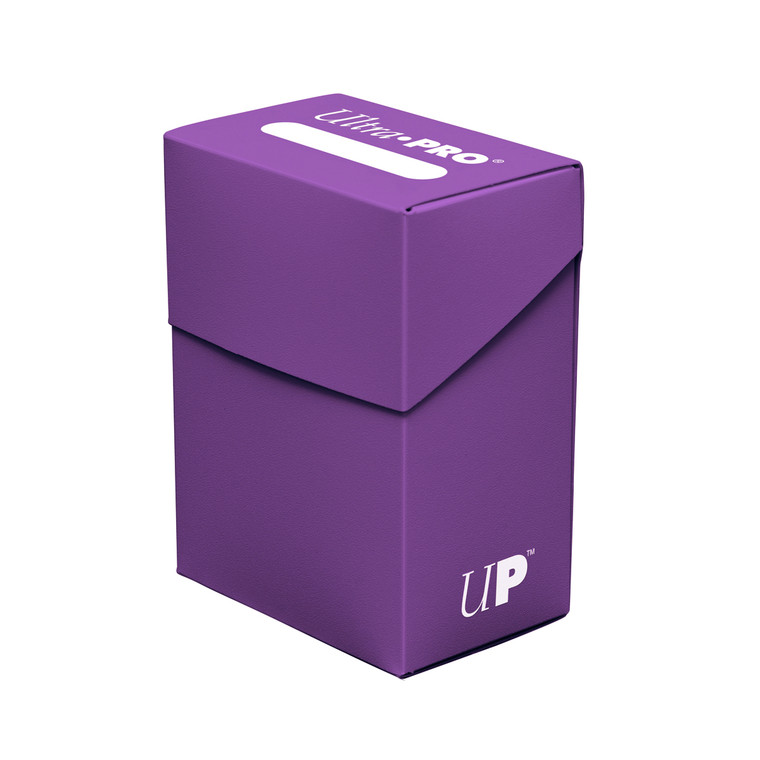 Deck Box 80ct Purple