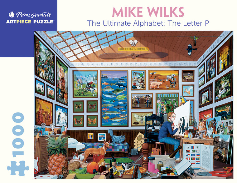 1000 Pc Wilks, Mike: The Ultimate Alphabet The Letter P