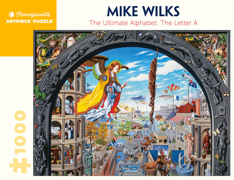1000 Pc Wilks, Mike: The Ultimate Alphabet The Letter A