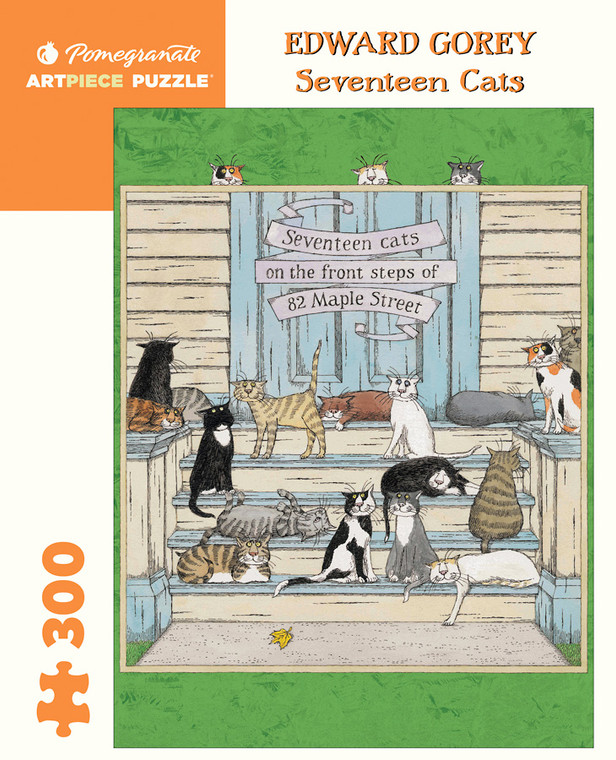 300 Pc Gorey, Edward: Seventeen Cats