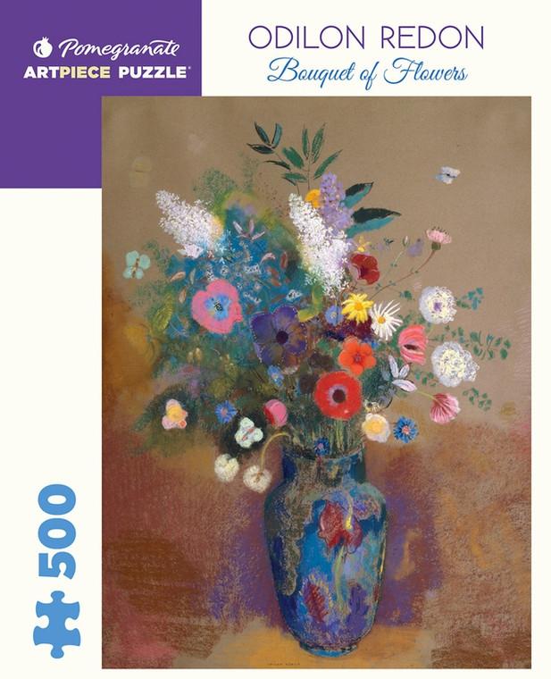 500 Pc Redon, Odilon: Bouquet of Flowers