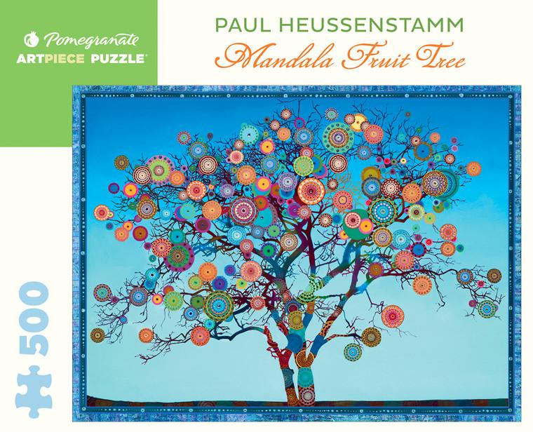 500 Pc Heussenstamm, Paul: Mandala Fruit Tree