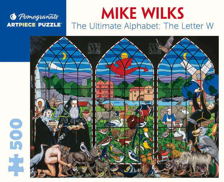 500 Pc Wilks, Mike: The Ultimate Alphabet The Letter W