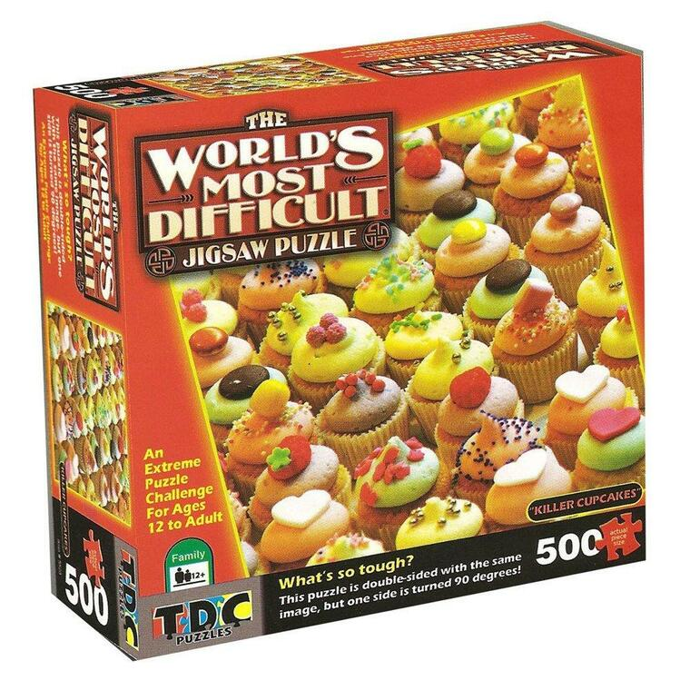 500 Pc Worlds Most Difficult Killer Cupcakes