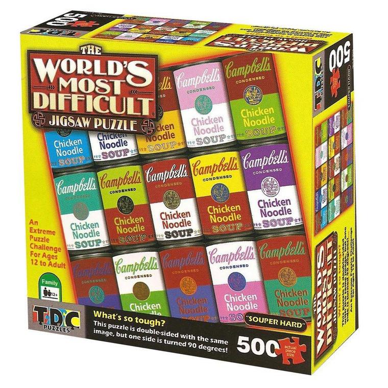 500 Pc Worlds Most Difficult Campbells Souper Hard