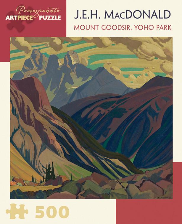 500 Pc MacDonald, J.E.H: Mount Goodsir, Yoho Park