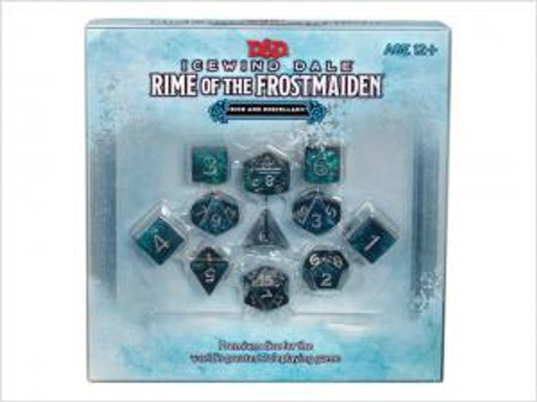 Dice and Miscellany Icewind Dale Rime of the Frostmaiden