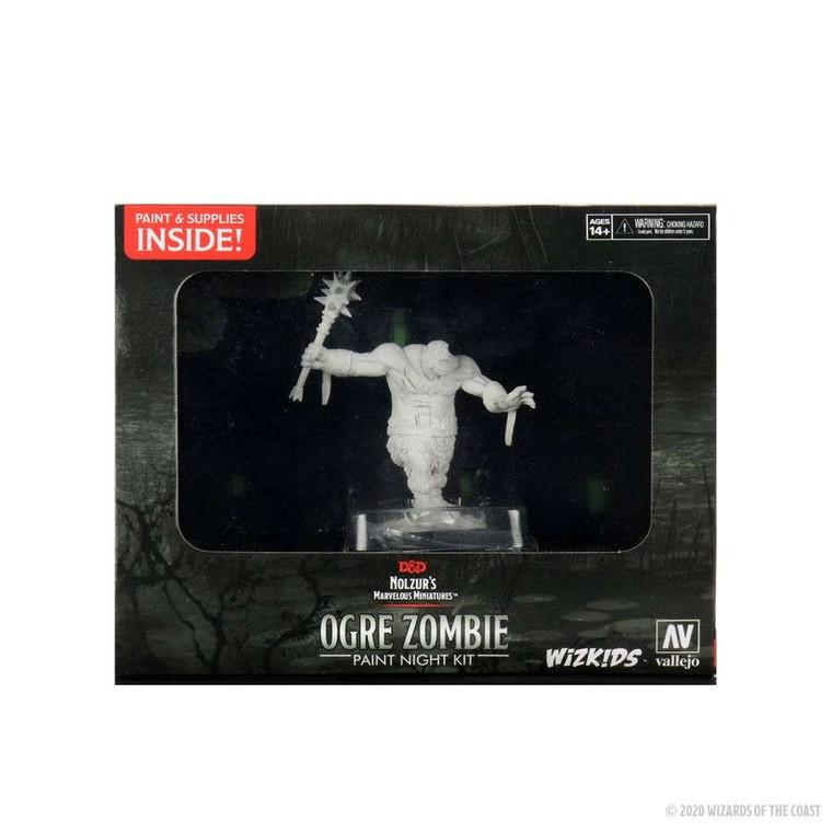Unpainted NPC Zombie, Ogre Zombie Paint Night Kit 90135