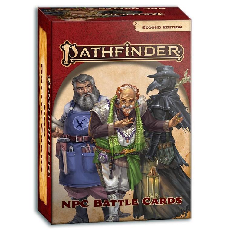 Pathfinder 2E NPC Battle Cards