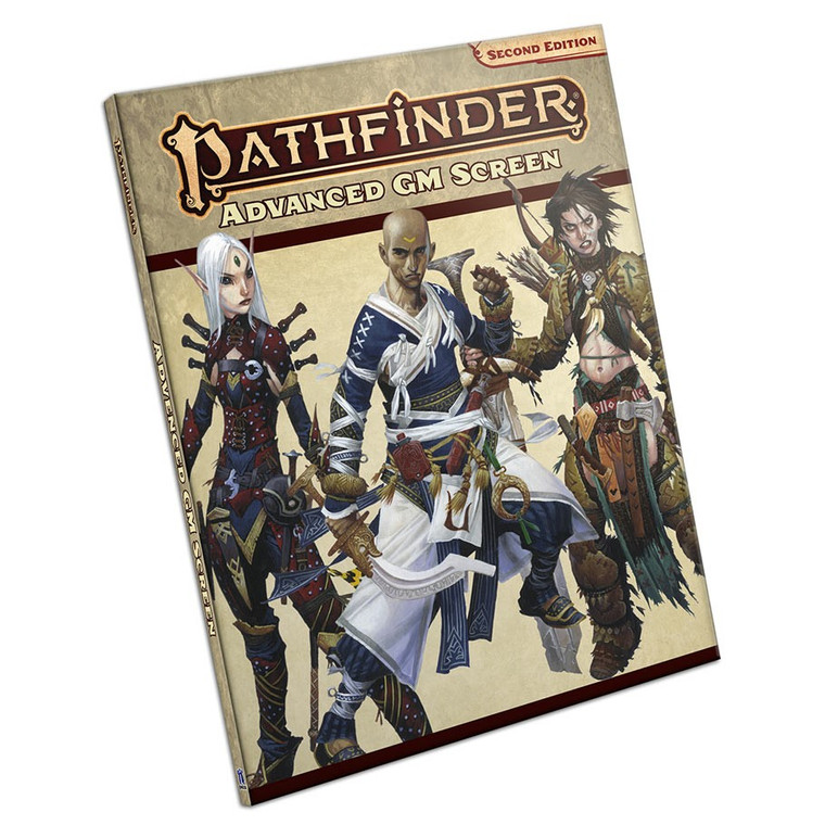 Pathfinder 2E Advanced Roleplaying Game GM Screen