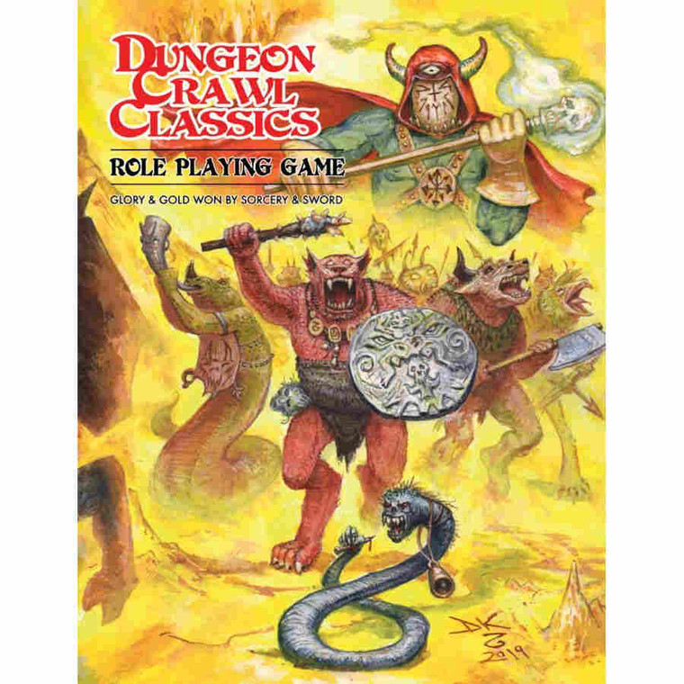 Dungeon Crawl Classics RPG Core Beastman Ed