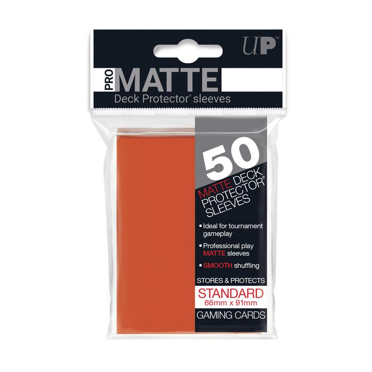 50ct Pro-Matte Peach Standard Deck Protectors