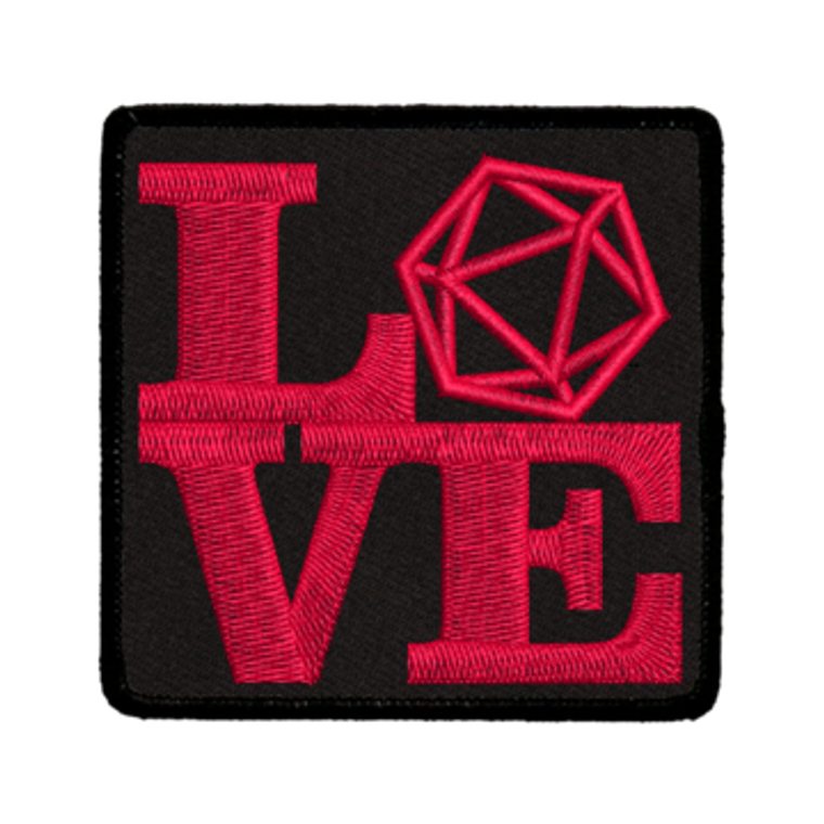 Iron-On Patch - Love D20