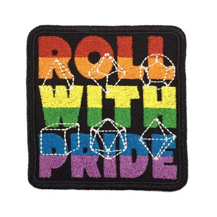 Iron-On Patch - Roll With Pride