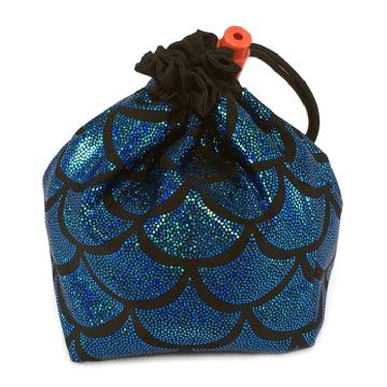 Dice Bag - Blue Mermaid Scales