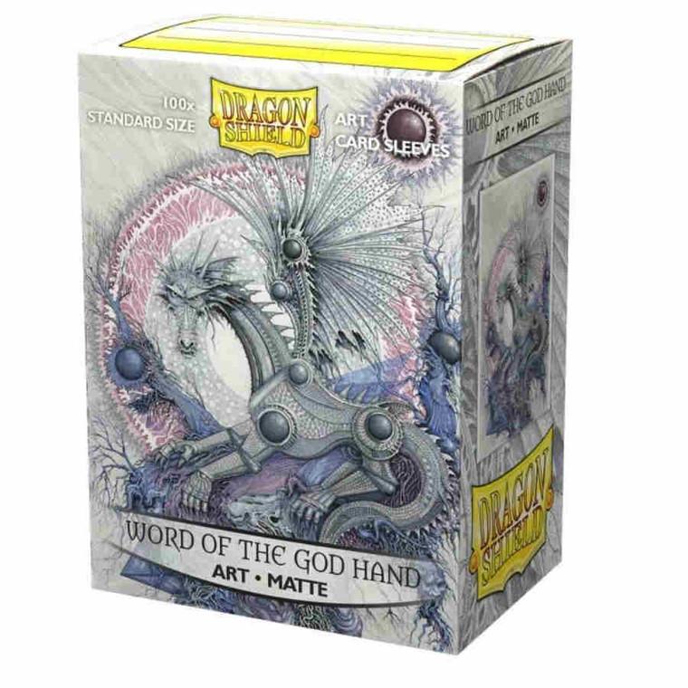 Dragon Shield Art Matte 100ct Word of the God Hand