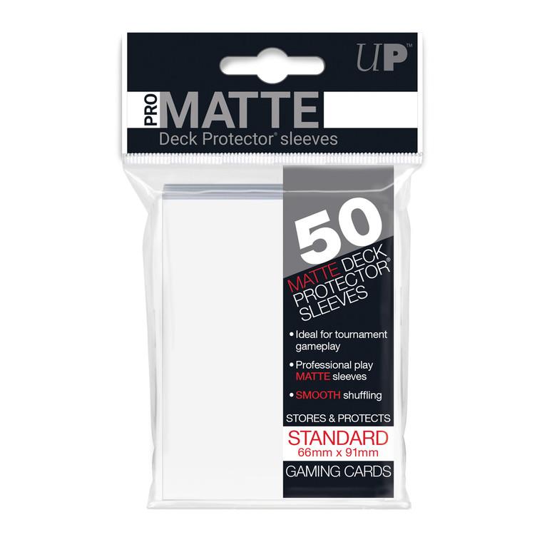 50ct Pro-Matte White Standard Deck Protectors