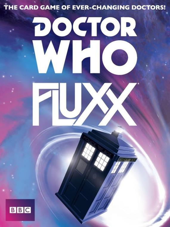 Rental: Fluxx Doctor Who