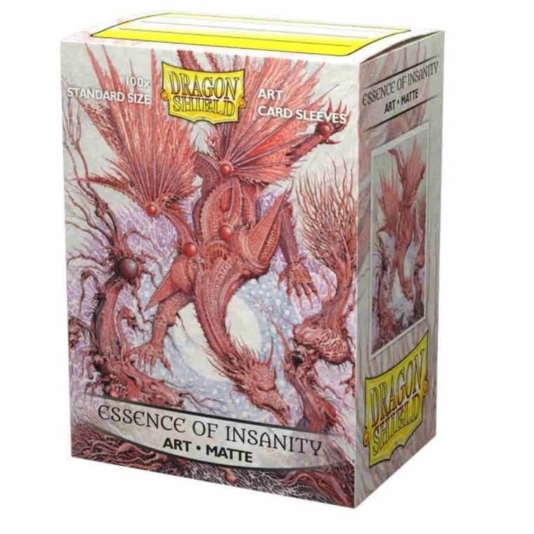 Dragon Shield Art Matte 100ct Essence of Insanity