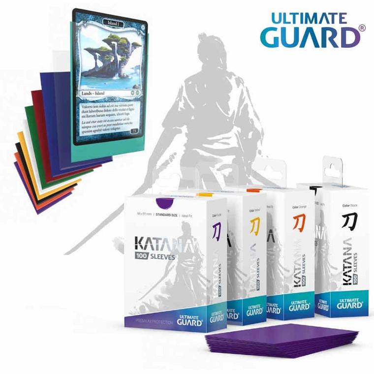 Ultimate Guard Katana Sleeves Yellow 100ct